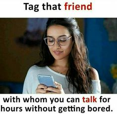 Tag Him / Her .Chaiye matlab chaiyye 🤐😛 F O L L O W U S ! Best Friend Quotes Funny, Besties Quotes, Girly Quotes, Cute Quotes, Quotes Rindu, Classy Quotes, Bffs, Qoutes, Real Friendship Quotes