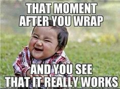 i got your wraps so you too can smile this big!!!! http://skepticswanted.myitworks.com #wrapsreallywork #itworks #loveyourbody