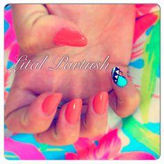 Lital Partush nail. (: