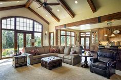 wood Home Design House Plans is part of Ranch house plans - Welcome to Office Furniture, in this moment I'm going to teach you about wood Home Design House Plans House Plans One Story, House Floor Plans, Floor Plans For Homes, Story House, Ranch Home Floor Plans, Open Concept House Plans, Craftsman House Plans, Craftsman Ranch, Craftsman Style Decor