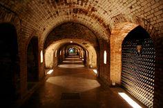 Champagne, France - Dom Perignon Caves