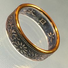 Hey, I found this really awesome Etsy listing at https://www.etsy.com/listing/196929948/beautiful-japanese-1-sen-coin-ring