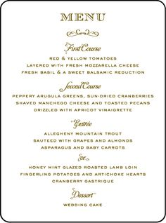 48 Best Wedding Menu Images Wedding Stationery Wedding Menu Cards