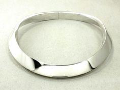 Silber Halsreifen - 504030/15