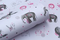 Nikkipea's gorgeous animal circus wallpaper would look lovely framed I think - 12 USD for 5 sheets!