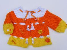 INSTANT+DOWNLOAD++Girls+Crochet+Sweater++Baby+by+PatternsByKrissy,+$5.99