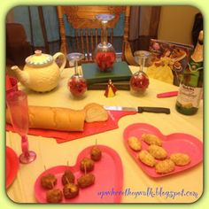 Up Where They Walk, Beauty & the Beast Family Movie Night...Proudly Presenting - Our Disney Dinner