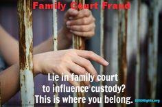 Family Court Fraud