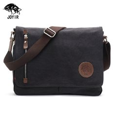Jeep Laptop Messenger Cross Body School College Courier Shoulder Bag Black//Brown