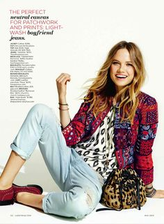 Lucky Editorial The New boho, May 2013 Shot #7