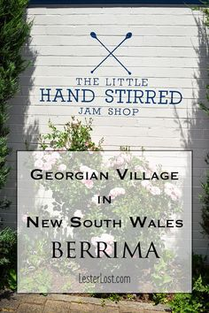 Take a day trip to the NSW Southern Highlands and discover Berrima, a well-preserved Georgian village two hours' drive from Sydney, Australia. It's a great road trip and you can enjoy a casual lunch and some shopping. via @Delphine LesterLost