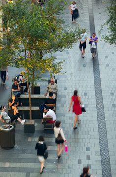 Pitt_Street_Mall-by-Tony_Caro_Architecture-09 « Landscape Architecture Works | Landezine