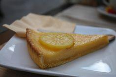 Zitronen-Tarte in Südfrankreich