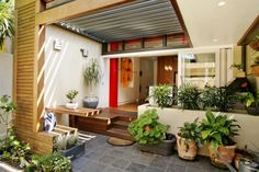 Contoh Teras Rumah Minimalis Beratap 2017