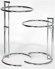 e1027 table by eileen gray table desk pinterest m bel tisch und wohnzimmer. Black Bedroom Furniture Sets. Home Design Ideas