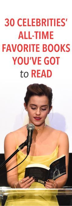 30 celebrities' all-time favorite books you've got to read
