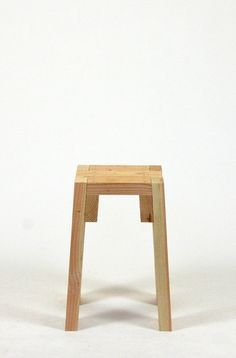 STOOLS   Front View Modern Furniture From Common Lumber By Sander Viegers.