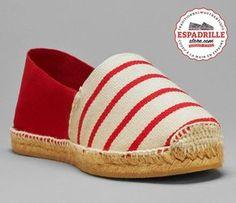 Espadrilles espagnoles | Chaussures bicolores pour femme