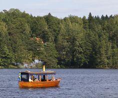 wooden boat, Håverud, Dalsland, Sweden