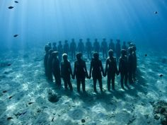 Ancestral Constellation. Photograph by Jason deCaires Taylor.