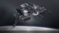 concept ships: Concept spaceship art from EVE