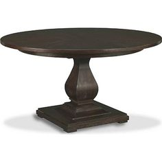 """drexal heritage, Vintage Originals - Savannah Round Dining Table 54""""w & opens to 74"""", various finishes"""