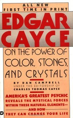 Dan Campbell, Good Books, Books To Read, Edgar Cayce, Book Format, Stones And Crystals, Author, Learning, Gemstones