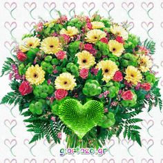 Flowers gif giortazo Flowers Gif, Beautiful Roses, Floral Wreath, Wreaths, Decor, Flowers, Floral Crown, Decoration, Door Wreaths