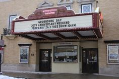 groundhogs day set in woodstock il.