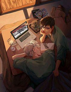 Aquí sólo encontrarás Imágenes de Yuuri K. x Viktor N. Cont… #detodo # De Todo # amreading # books # wattpad