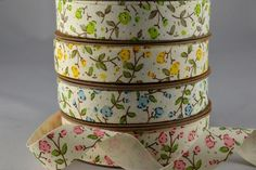 15mm Cotton Cream Printed Floral Ribbon x 10 Metres!! Xoxo  http://theribbonroom.co.uk/everyday/55015-cream-printed-flowers.html