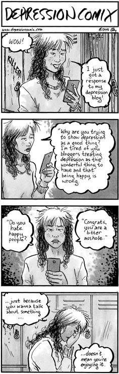 depression comix - 308 - View Site - View Patreon