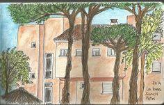 Apartamentos La Loma de Sancti-Petri  Lápices acuarelables