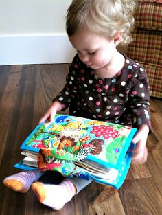 Nora's Homemade Cloth Activity Book-can order pattern. Great for a small child.