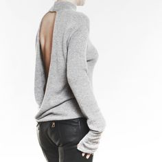 #wool #cashmere #knit #knitting #fashion #FW17 #trend #style #streetstyle #grey