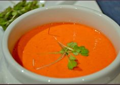 Red Bell Pepper Coconut Bisque