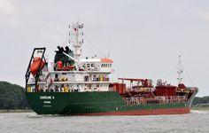 http://koopvaardij.blogspot.nl/2017/07/8-juli-2017-inkomend-op-de-nieuwe.html    Voormalige GLOBAL TAURUS   van Global Taurus Shipping Ltd., Gibraltar   Beheer North Sea Tankers B.V., Rotterdam