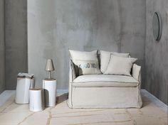 Schlafsessel mit abnehmbarem Bezug GHOST 11 by Gervasoni Design Paola Navone
