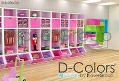 Resultado de imagen para muebles para tienda de ropa infantil