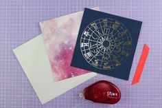 Create a luxe look by adding foil to your cards - we show you four different ways ♉ #horoscope cards are the best kind! ♌