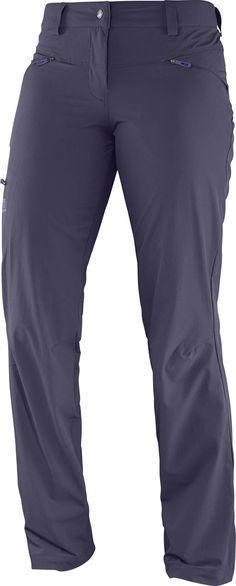 Wayfarer Pant W Nightshade Grey Salomon : Pantalons de randonnée : Snowleader