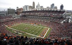 Paul Brown Stadium, home of the Cincinnati Bengals