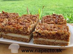 Medovo-orechový zákusok