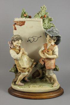 Capodimonte Bruno Merli Figurine First Love – LUX-FAIR.com