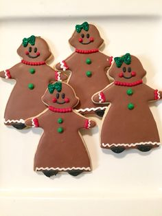 #Gingerbread lady sugar #cookies    Courtney's Confections   @courtneysconfectionsok