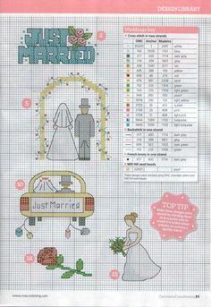 Kuvahaun tulos haulle wedding sampler cross stitch charts free
