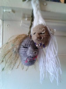 Amiguruthi Shrunken Head (1)~free pattern! A must-have for everyone's pattern library