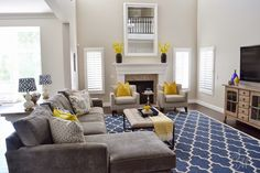 Client Project Reveal: The Summerwood Project Renovation note color combo and media cabinet