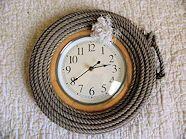 clock-with fire hose?