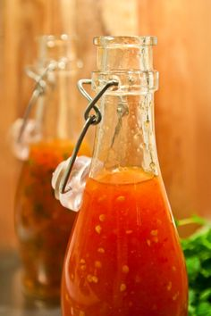 Home made sweet chili sauce Swedish Recipes, New Recipes, Cooking Recipes, Healthy Recipes, Candy Drinks, Vegan Sauces, Just Eat It, Sweet Chili, Recipe For Mom